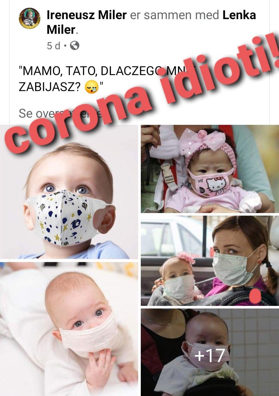 Corona idiotiet
